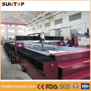 China Repeatability 0.02mm  water jet cnc cutting machine metal cutting machine on sale