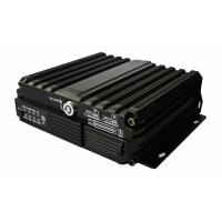 China Lightweight 960H SD Mobile DVR Double SD Card 4 Channels on sale