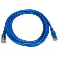 China indoor installation Cat5e UTP 26AWG Network Patch Cord with PVC Jacket , Blue wholesale