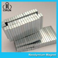 12000 Gauss Super Strong Neodymium Magnet Bar Shaped Anti - Corrosion