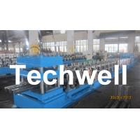 China Three Wave Highway Guardrail Cold Roll Forming Machine for 3 Wave Guard Rail Beam wholesale