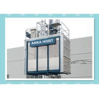 China Rack And Pinion Construction Material Lifting Hoist / Passenger Hoist Safety wholesale