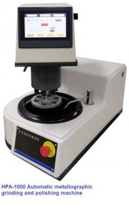 China 6 Samples Plc Control Metallographic Grinding And Polishing Machine Single Disc Automatic wholesale
