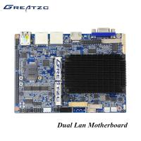 China Industrial Dual LAN Fanless Bay Trail Motherboard With VGA HDMI LVDS 6 COM LPT GPIO wholesale