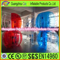 China Inflatable Human Body Zorb Games wholesale
