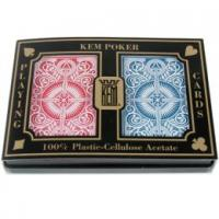 Quality Kem 100% Plastic Playing Marked Cards for sale