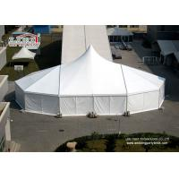 China High Peak Enclosed Canopy Tent Wedding Reception Rain Tents Outdoor Events wholesale