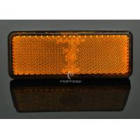China Yellow 24 LED Brake Lights With Clear Lens , Custom Motorcycle Brake Light wholesale