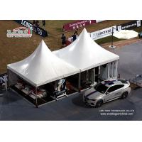 China 5m x 5m Chinese Aluminum Hat Marquee Gazebo Canopy Tents With High Peak For Parking Shade wholesale