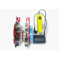 China Electric Trolley Hoist 110v 0.5t Wire Rope Hoist for warehouse Machine work wholesale