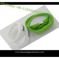 China hot selling custom colorful silicone wristband/bracelet 1inch with your logo wholesale