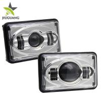Buy cheap Black Square 4x6 Led Headlight 30° Spot Beam 45 W / 25 W For Truck from wholesalers