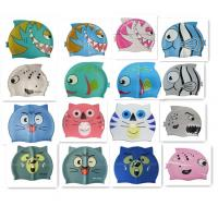 China waterproof swim caps wholesale