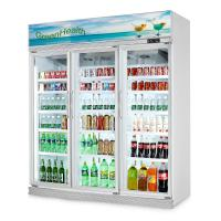 Buy cheap Green&Health supermarket glass door  beverage refrigerated display case cooler chiller from wholesalers