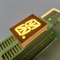 China Super Amber LED Sixteen Segment Display 0.8 Inch For Automation Control wholesale