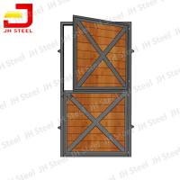 Buy cheap Portable Horse Stall Panels For Barns / Metal Horse Stall Doors 1200*2200mm Size from wholesalers