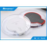 China Wireless Phone Charger For Iphone 8 X , Clear Fast Wireless Charging Pad wholesale
