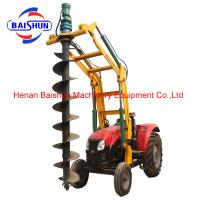 China Pile drilling machine yto tractor small pile driving machine pole erection machine wholesale