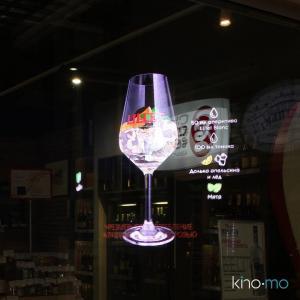 China Hand holding Floating Hologram Player Hypervsn Holographic 3D Led Fan  For Advertising wholesale