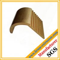 Wholesale copper hardware brass extrusion profile sections with teeth from china suppliers