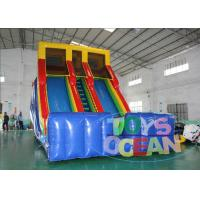 China 18FT Rainbow Water Slide Customized Color  Lead Free / CE Approved wholesale