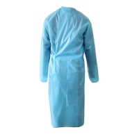 China Multi Layer Filter Unisex FDA Medical Isolation Gowns on sale