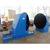 China Head and Tail Fixed Welding Positioner Use Round Workingtable Revolving Speed Adjusted by Delta Frequency Converter wholesale