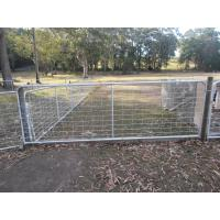 "China 4ft General Purpose Metal Farm Gates Horse Cattle Sheep Yard Panels Victoria "" wholesale"