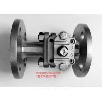"China PN16 Hand Operated Two Way Ball Valve 2"" Locking Flange Type For Water wholesale"