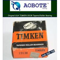 China High Precision Timken Taper Roller Bearings Gcr15 with Single Direction wholesale