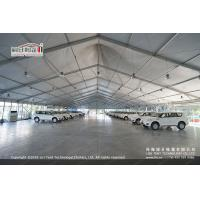 China 30m White PVC High Peak Tents with Hard Pressed Extruded Aluminum Alloy Frame wholesale