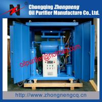 China 10KV to 110KV Transformer Oil Purifier Machine, Dielectric Oil Filtering Unit on sale
