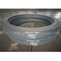 Quality 3.2um Ra Surface Finish Carbon Steel Forgings Ring Normalizing Proof Machining for sale