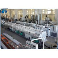 China 75~250mm HDPE Pipe Extruder Machine Production Line For Water Supply Pipe / Gas Pipe wholesale