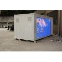 China DIP P10 Full Color Truck Mobile Commercial LED Screen Display 6500 cd/㎡ wholesale