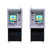 China 17'' Touch Monitor ATM Money Machine Customized With Cash Dispenser wholesale