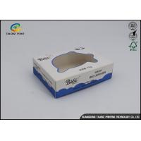 China White Blue Printing Cheap Price Custom Design Eco Friendly Soap Packaging Box wholesale