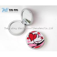Buy cheap Personalised Travel Makeup Mirror Grils Small Makeup Mirror Gift from wholesalers
