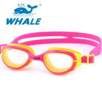 China Professional Silicone Swimming Goggles Scratch Resistant , No Leaking wholesale