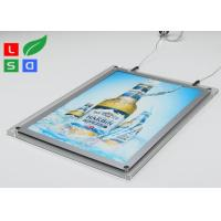China 2mm Clear Acrylic LED Crystal Light Box HS Code 94056000 For Ceiling Hanging wholesale