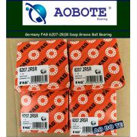 China Single Row Fag Ball Bearings 6207-2rsr , Deep Groove Ball Bearing wholesale