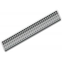 China Outside Steel Galvanized Trench Grates For Driveways / Bicycle Guard wholesale