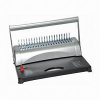China Comb Binding Machine with 21 Disengageable Punch and 20 Sheets, OEM and ODM Orders are Welcome  wholesale