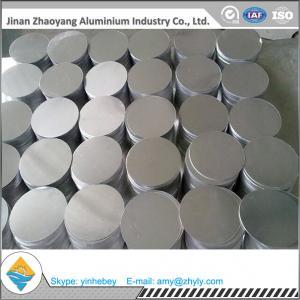 China Aluminium Discs 1050 1060 1100 H14 / H24 / O 0.5mm 1mm 2mm 3mm 5mm Aluminum Wafer wholesale