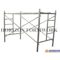 China Multi - Function Ladder Frame Scaffolding Q235 Steel Pipe For Construction Work wholesale