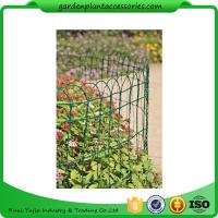 "China Economical Garden Plant Accessories - Dark Green  Mesh Steel Wire Fencing PVC-coated 1/16"" wire  All heights are 32'-9"" wholesale"