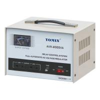 China Current Type Single Phase Stabilizer , AVR Automatic Voltage Stabilizer 220V AC 2000VA For Home Use wholesale