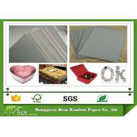 China Material Mixed Paper Pulp Book Binding Board , Uncoated Grey Board Sheets wholesale