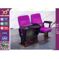 Buy cheap Used Plastic Interlocking Church  Chairs with back pocket Wholesale from wholesalers
