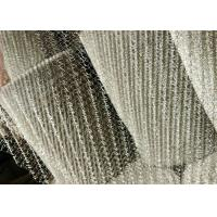 China 316L Knitted Stainless Steel Wire Netting High Acid And Alkali Resistance on sale
